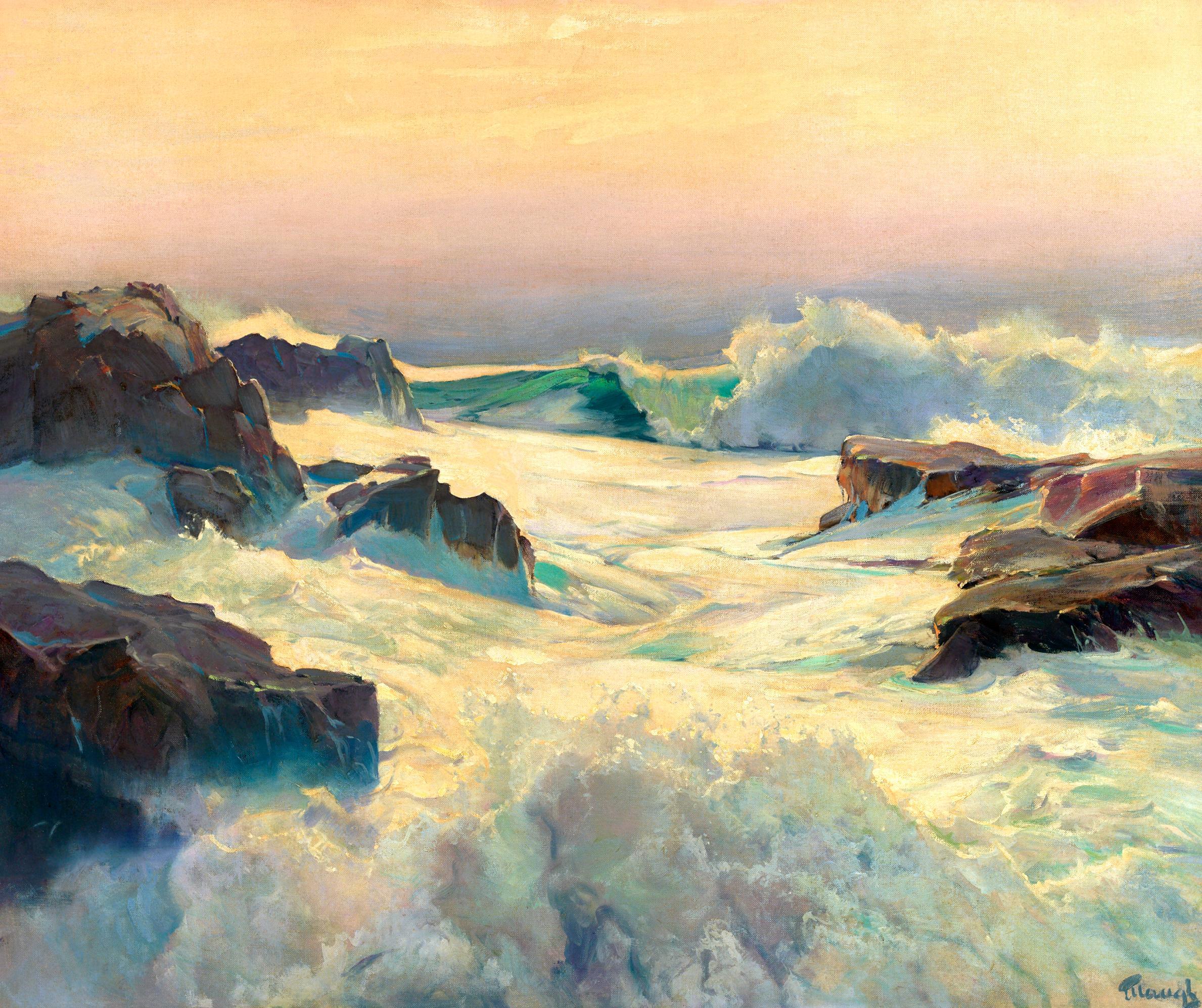 Big Seas at High Water
