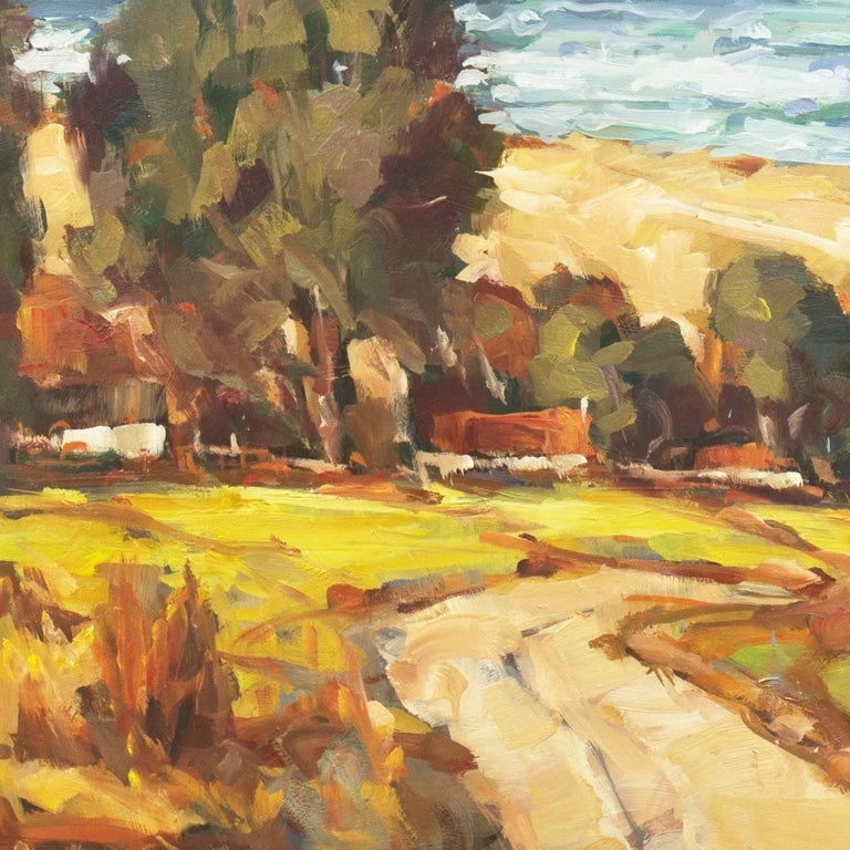 'Elsonore Coast and the Øresund Straits, Denmark', SFAA, California Artist For Sale 2