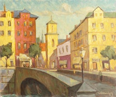 'The Marble Bridge, Copenhagen', Hamburg Academy of Fine Arts, SFAA, California