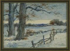 Early 20th Century Landscape -- Winter on Long Island