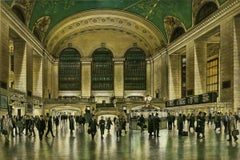 Across the Floor (Rush hour travelers at Majestic  Grand Central Station in NYC)