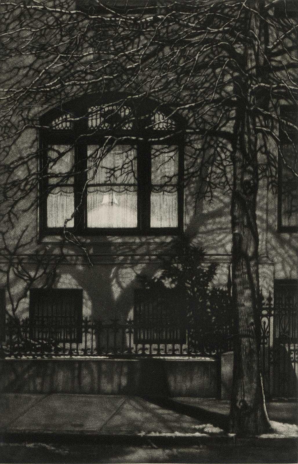 Across the Street (Limestone mansion in Prospect Park in Brooklyn)