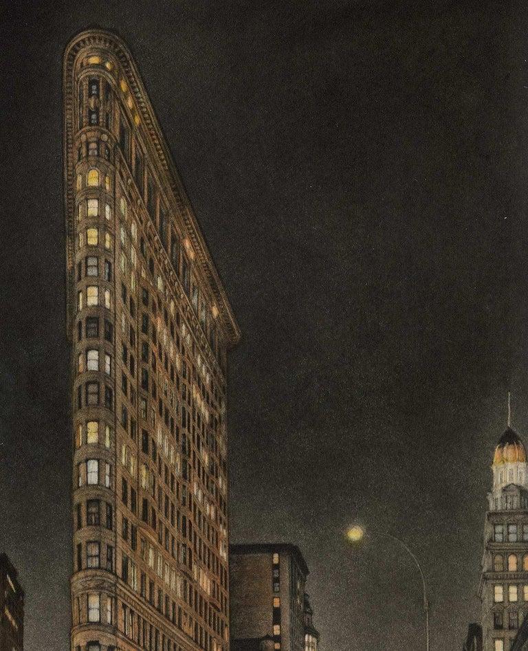 Destinations (Flatiron Bidg, 5th Avenue and Broadway at 23rd Street) - Print by Frederick Mershimer