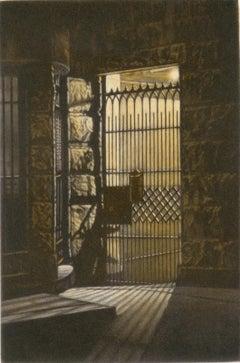 Garden Gate (a brownstone gate on St. John's Place in Brooklyn)