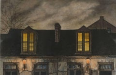 Lafitte's Blacksmith House (a bar named for a pirate on Bourbon St, New Orleans)