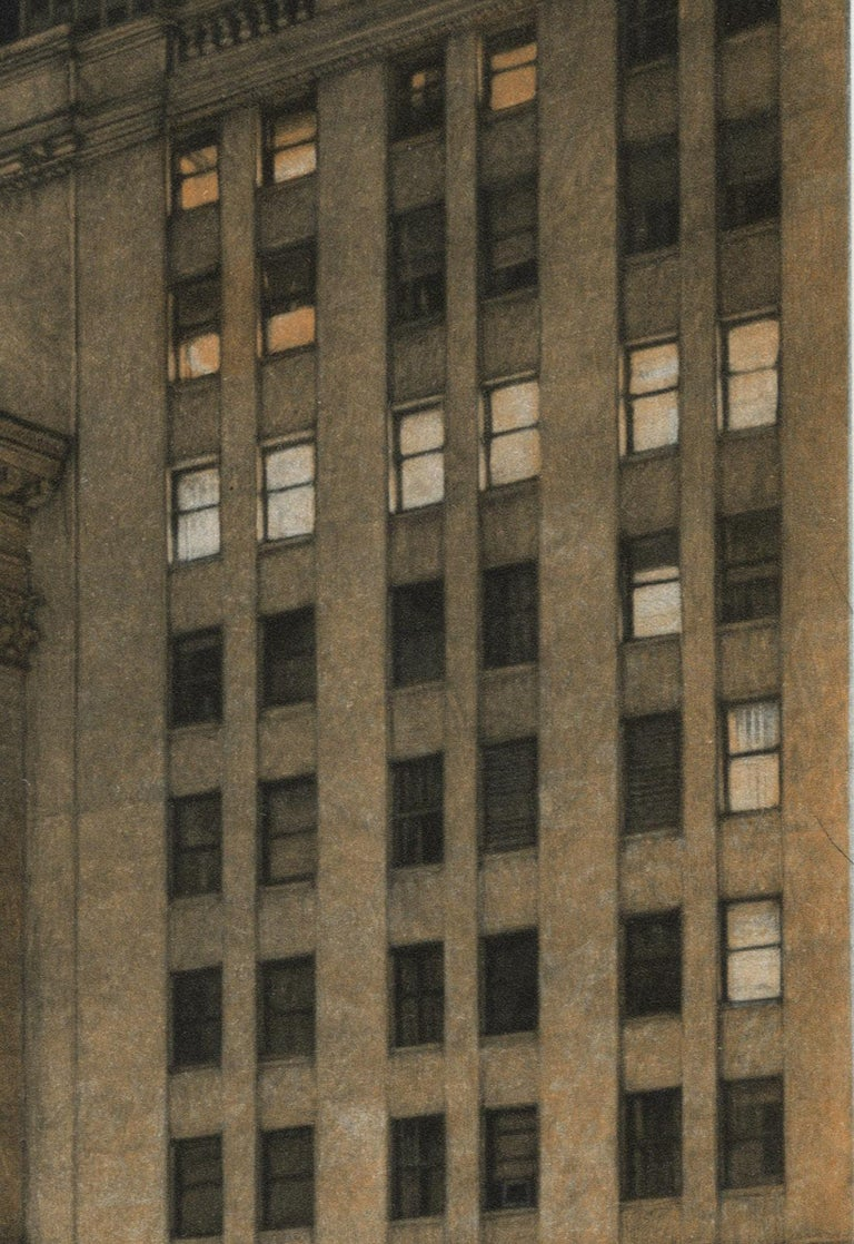 New York Stock Exchange (Symbolic icon of Wall St.'s vast power and wealth) - Print by Frederick Mershimer