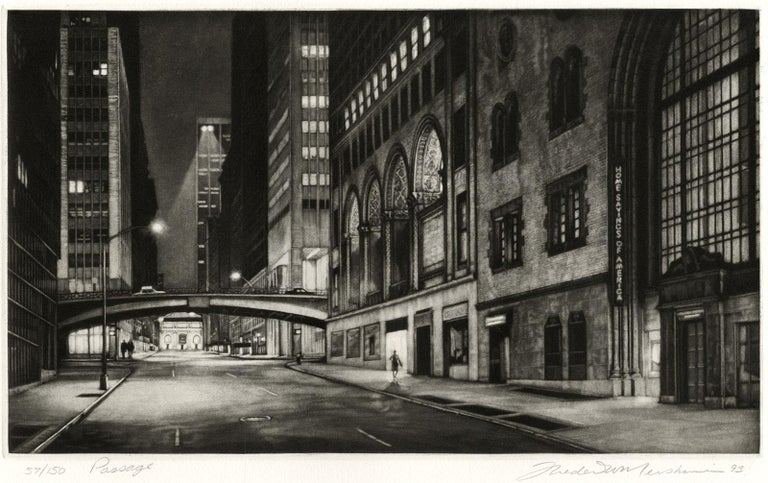 Passage (Inaugural Selection of Print Club of New York / E41st bet Lex and Park) For Sale 2
