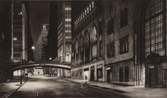 Passage (Inaugural Selection of Print Club of New York / E41st bet Lex and Park)
