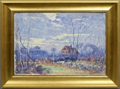 Impressionist New England Landscape Oil Painting by Frederick Mortimer Lamb
