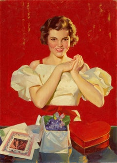 Valentines Day, Saturday Evening Post Cover
