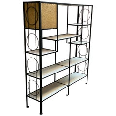 Frederick Weinberg Iron Shelving Unit