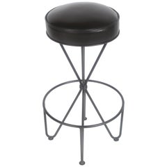 Frederick Weinberg Midcentury Swivel Bar Stool