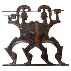 "Frederick Weinberg ""Roman Soldiers"" Resin Wall Sculpture"