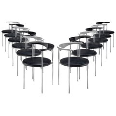 Frederik Sieck of Twelve Chairs in Black and White