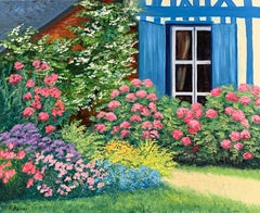 Le Jardin aux Volets Bleu