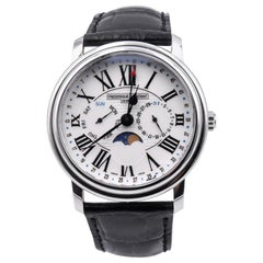 Frederique Constant Stainless Steel Moonphase Calendar Automatic