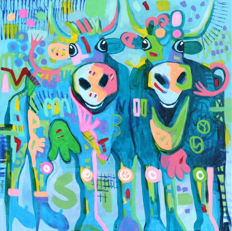 Blues Brothers - Mixed Media Art by Fredi Gertsch