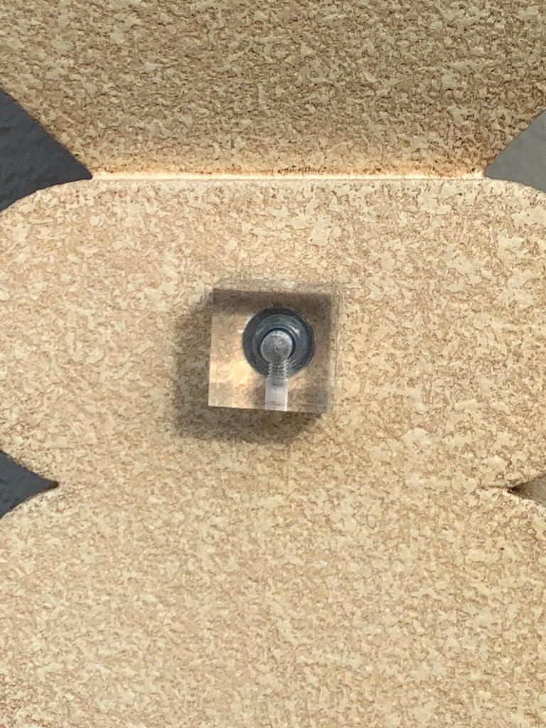 Fredrick Ramond Parchment Enamel Sculptural Floor Lamp/Torchiere 3