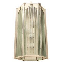 Fredrick Raymond  Deco Style Lantern/ Pendant, USA ,1985