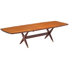 Fredrik A. Kayser 'Captains' Dining Table in Teak