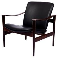 Fredrik Kayser Rosewood Lounge Chair
