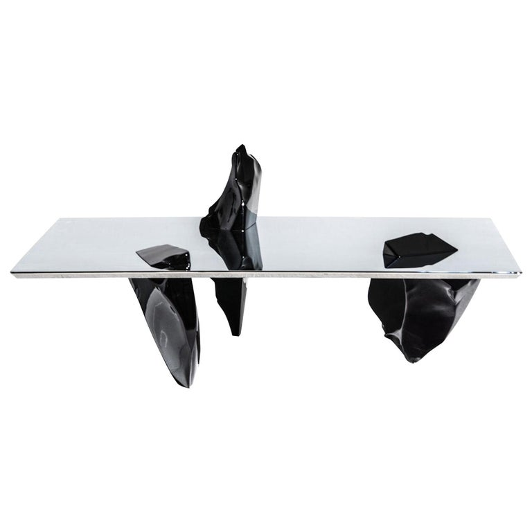 Fredrikson Stallard Coffee Table Model Sereno Driade, Italy For Sale