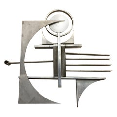 Free-Form Metal Art Wall Sculpture