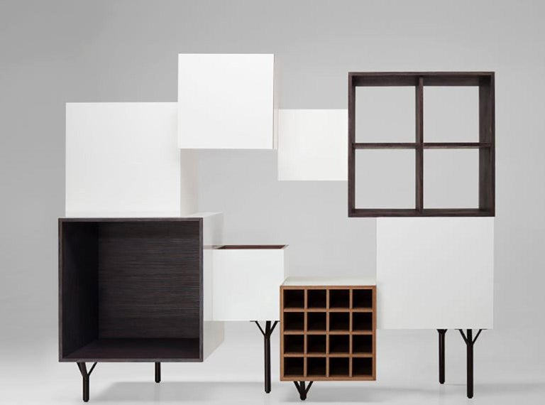 Free Port Cabinet by Martí Guixé for BD Barcelona In New Condition For Sale In New York, NY