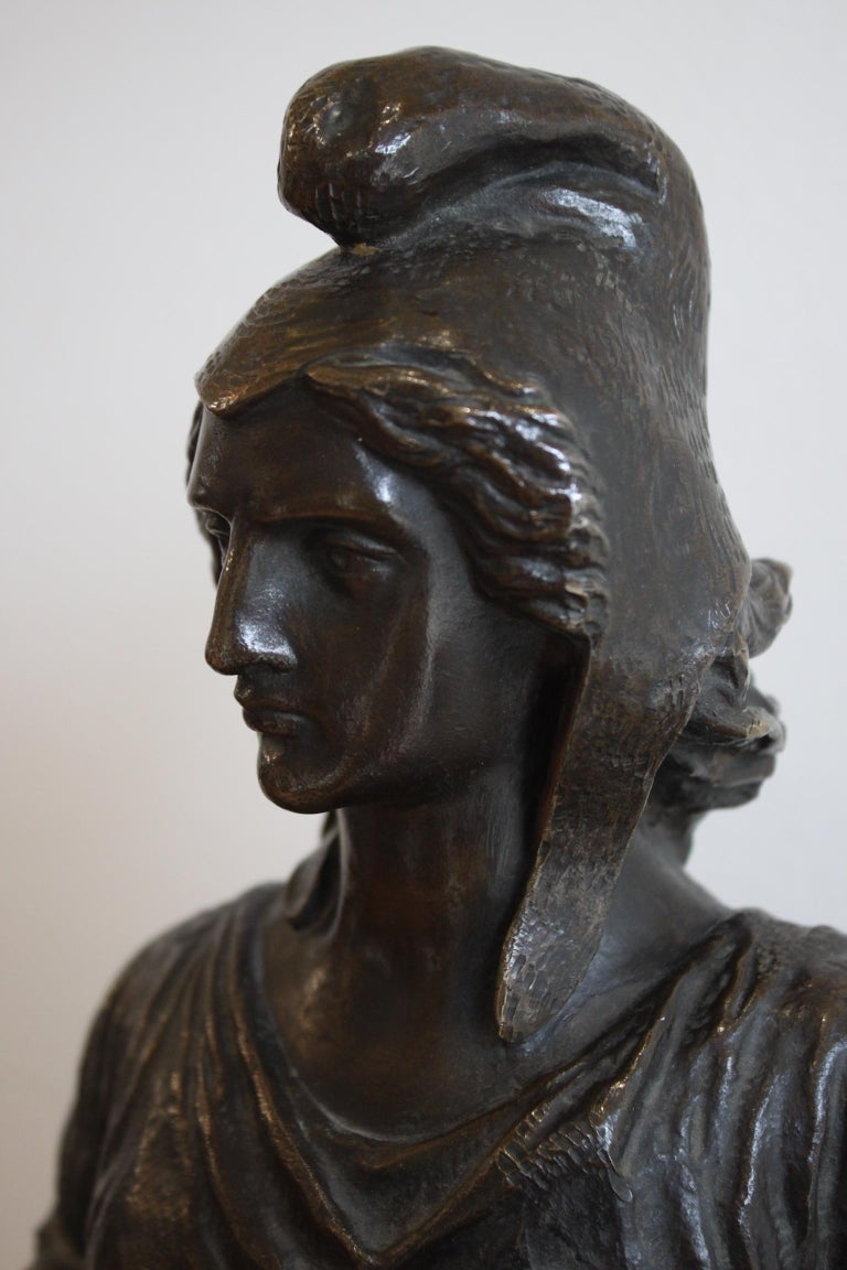 Bronze Freedom by The People, David d' Angers, 19th Century For Sale