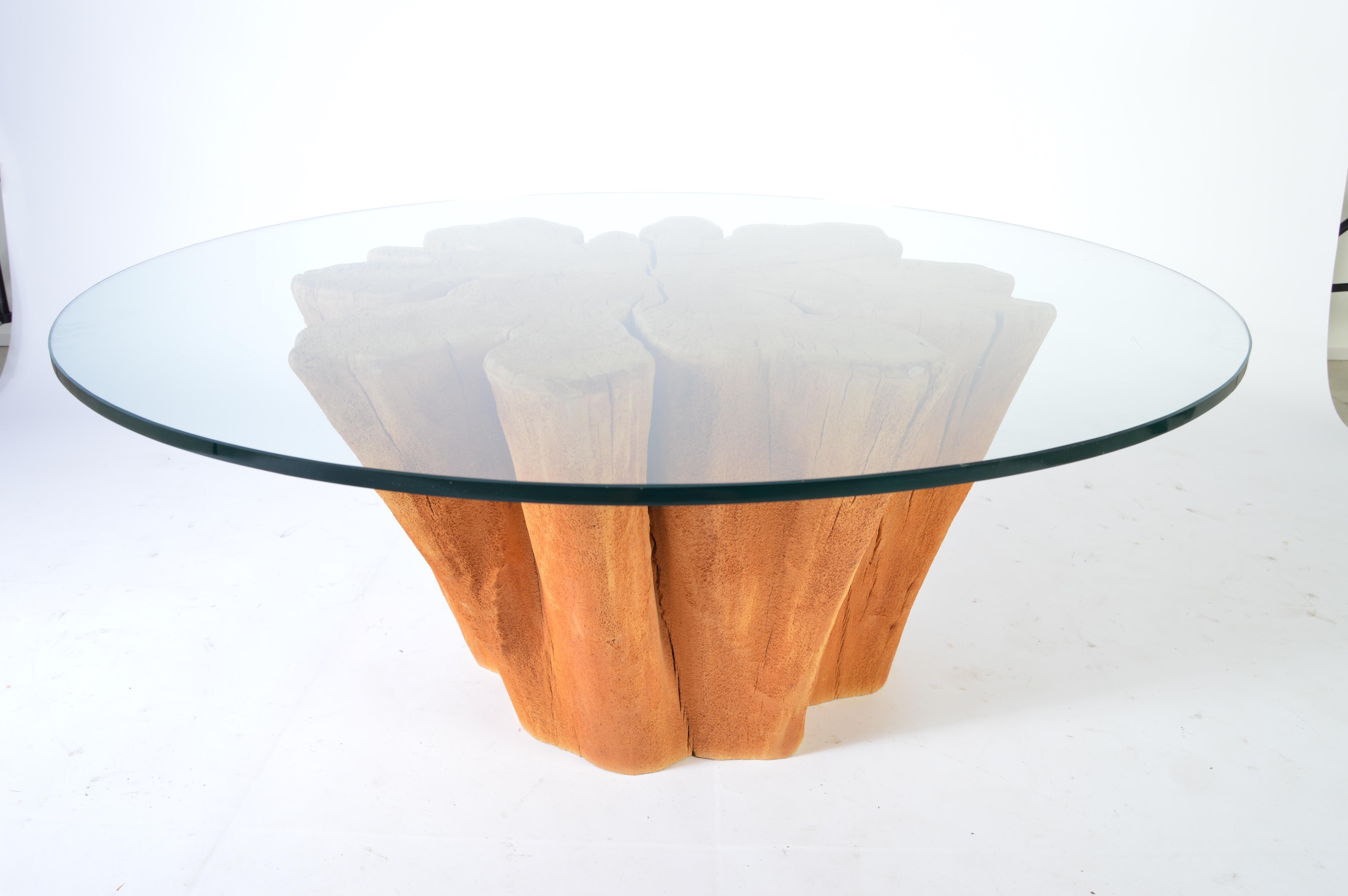 Freeform Cypress Tree Trunk Tail Table At 1stdibs
