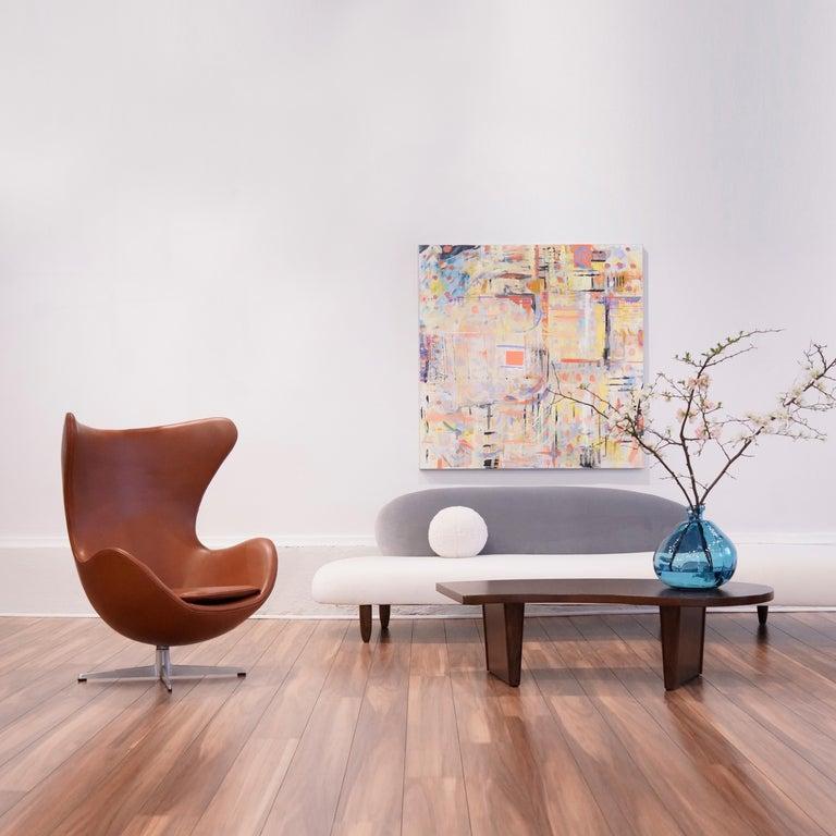 Mid-Century Modern Freeform Sofa by Isamu Noguchi For Sale