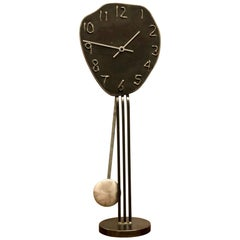 Freeform Tall Table Clock by Artist Jon Surriugarte California Design