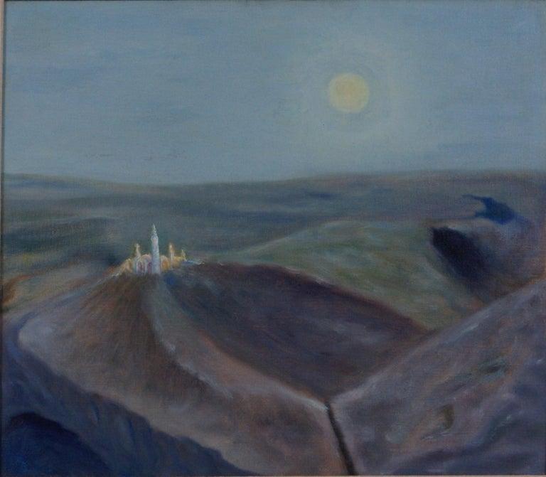 Landscape - Painting by Freeman Baldridge