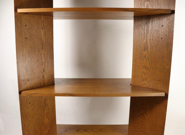 Mid-Century Modern Freestanding Shelf by Lane For Sale