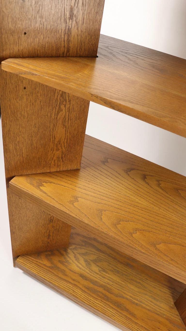 Veneer Freestanding Shelf by Lane For Sale