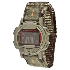 Freestyle Endurance Predator Green Nylon Plastic Quartz Digital Watch FS84997