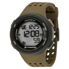 Freestyle FX Trainer Plastic Silicon Olive/Black Digital Quartz Watch 10019177
