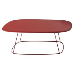 Freestyle Red Coffee Table by Angeletti Ruzza