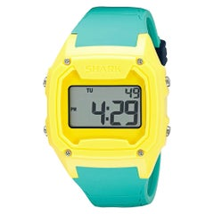 Freestyle Shark Classic XL Yellow/Green Plastic Digital Men's Watch 10026584