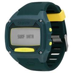 Freestyle Shark Tooth Tide Olive/Yellow Digital Quartz Bluetooth Watch 10025775