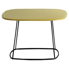 Freestyle Yellow Side Table by Angeletti Ruzza
