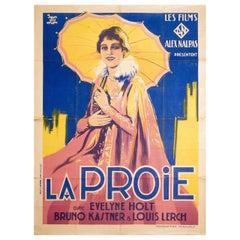"""Freiwild"" 1928 French Grande Film Poster"