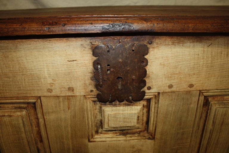 Bleached French 17th Century Desk For Sale