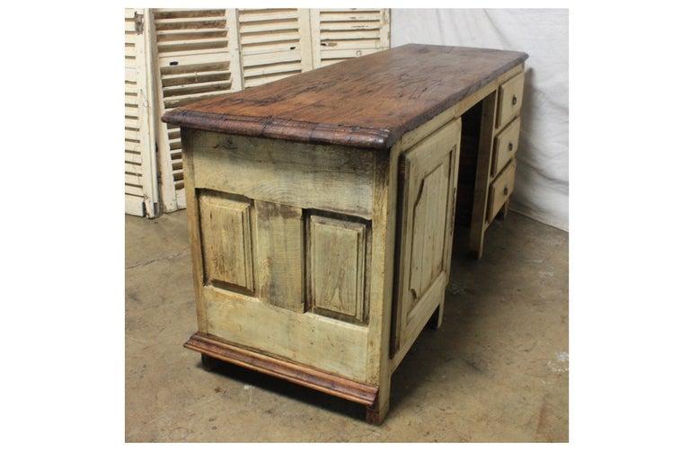 Oak French 17th Century Desk For Sale