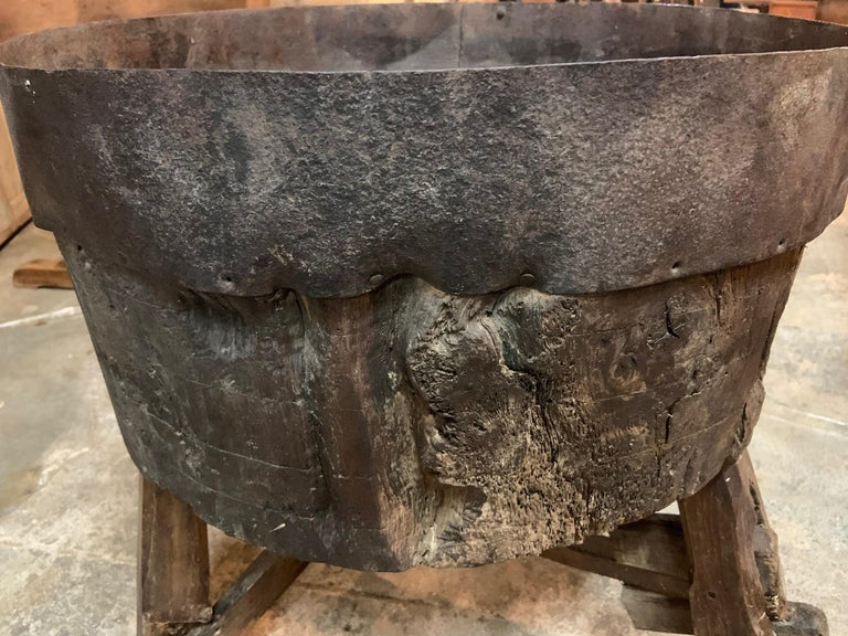 18th Century and Earlier French 17th Century Moulin, Grain Grinding Billot For Sale