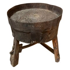 French 17th Century Moulin, Grain Grinding Billot