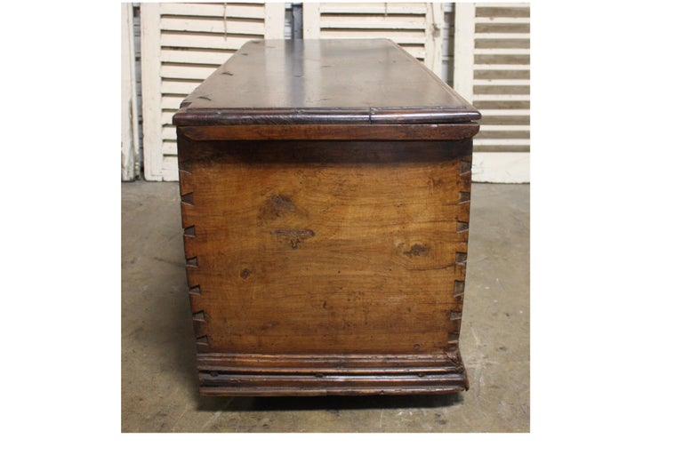 French 17th Century Trunk or Blanket Chest For Sale 6