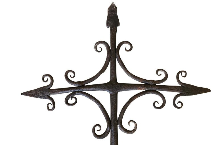 French 17th Century Weather Vane In Good Condition For Sale In Atlanta, GA