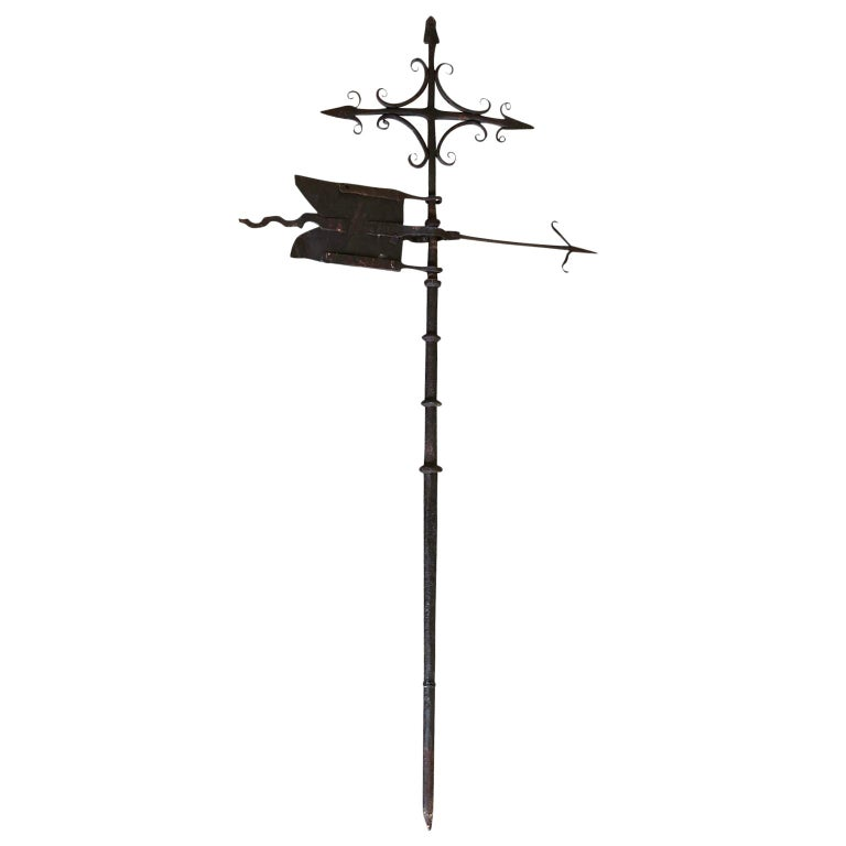 French 17th Century Weather Vane For Sale