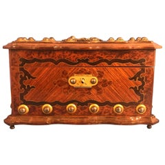 French 1860 Tea Caddy
